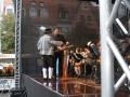 Vorbereitung Konzert Stadtplatz Jena