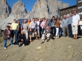 Gruppenfoto auf dem Berg