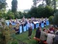 Begrüßung zur Serenade in Lauterbach