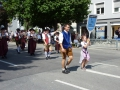 Einzug zum Volksfest Dachau 2012