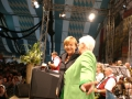 Wir haben die Bundeskanzlerin in Dachau musikalisch begrüßen dürfen