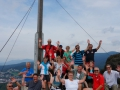 Musikantenausflug Bodenmais 2016 - Silberberg Gipfel