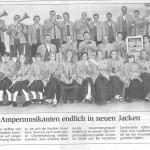 Jacken für die Amper-Musikanten